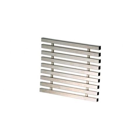 Решетка перелива 195х35 мм нержавеющая сталь сталь (модуль-0,5м) XENOZONE