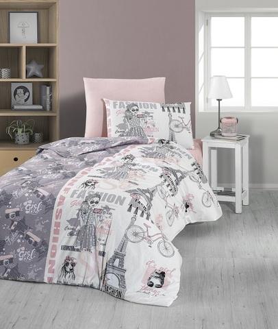 Комплект постельного белья DO&CO RANFORCE 1,5 спальный (Евро) FASHION