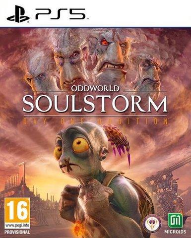 Oddworld: Soulstorm НЕстандартное издание (PS5, русские субтитры)