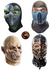 Мортал Комбат маски персонажей Смертельной битвы