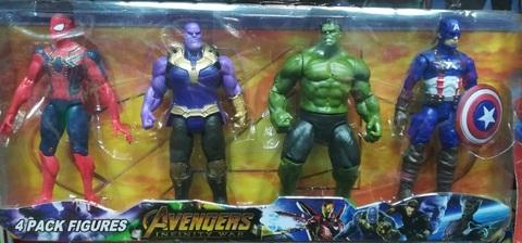 Набор из четырёх Мстителей №1