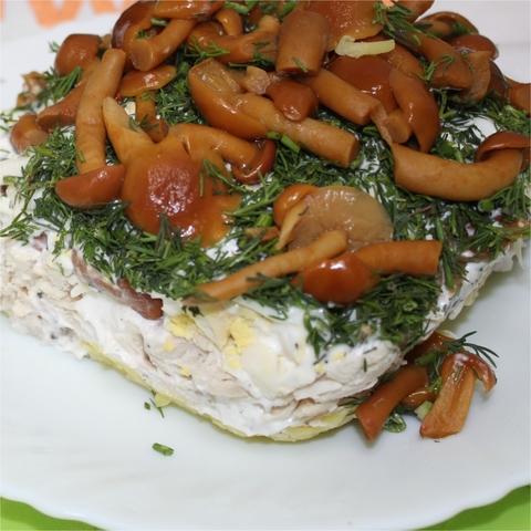 Салат Полянка 1 кг