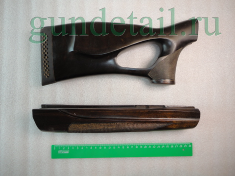 Приклад и цевьё МР-155 ортопед левша орех