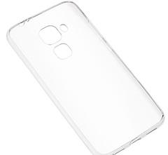 Skinbox Slim Silicone чехол для Huawei Nova Plus, Прозрачный
