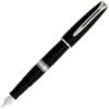 Waterman Charleston - Ebony Black CT, перьевая ручка, F