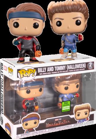 Фигурки Funko Pop! Marvel: WandaVision - Billy and Tommy (Halloween) (Excl. to Emerald City Comic Con)