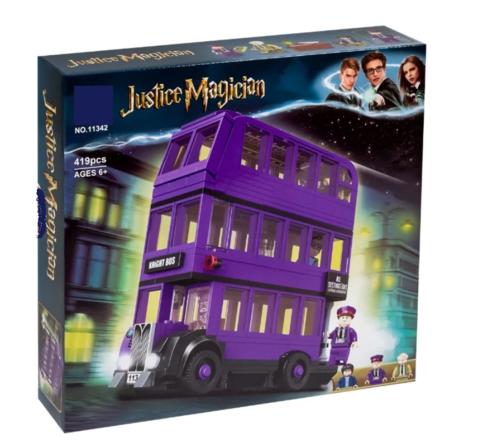Конструктор Justice Magician 11342 Автобус Ночной рыцарь