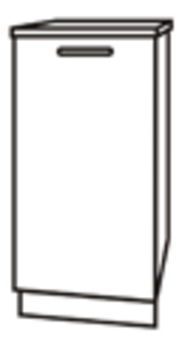 Чили ШН 400 шкаф нижний под мойку