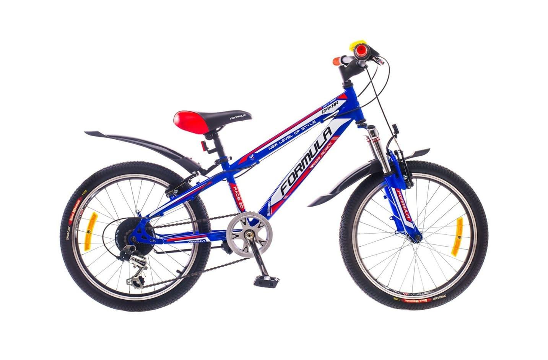 Горный универсальный велосипед Formula Dakar 2015 сине-красный