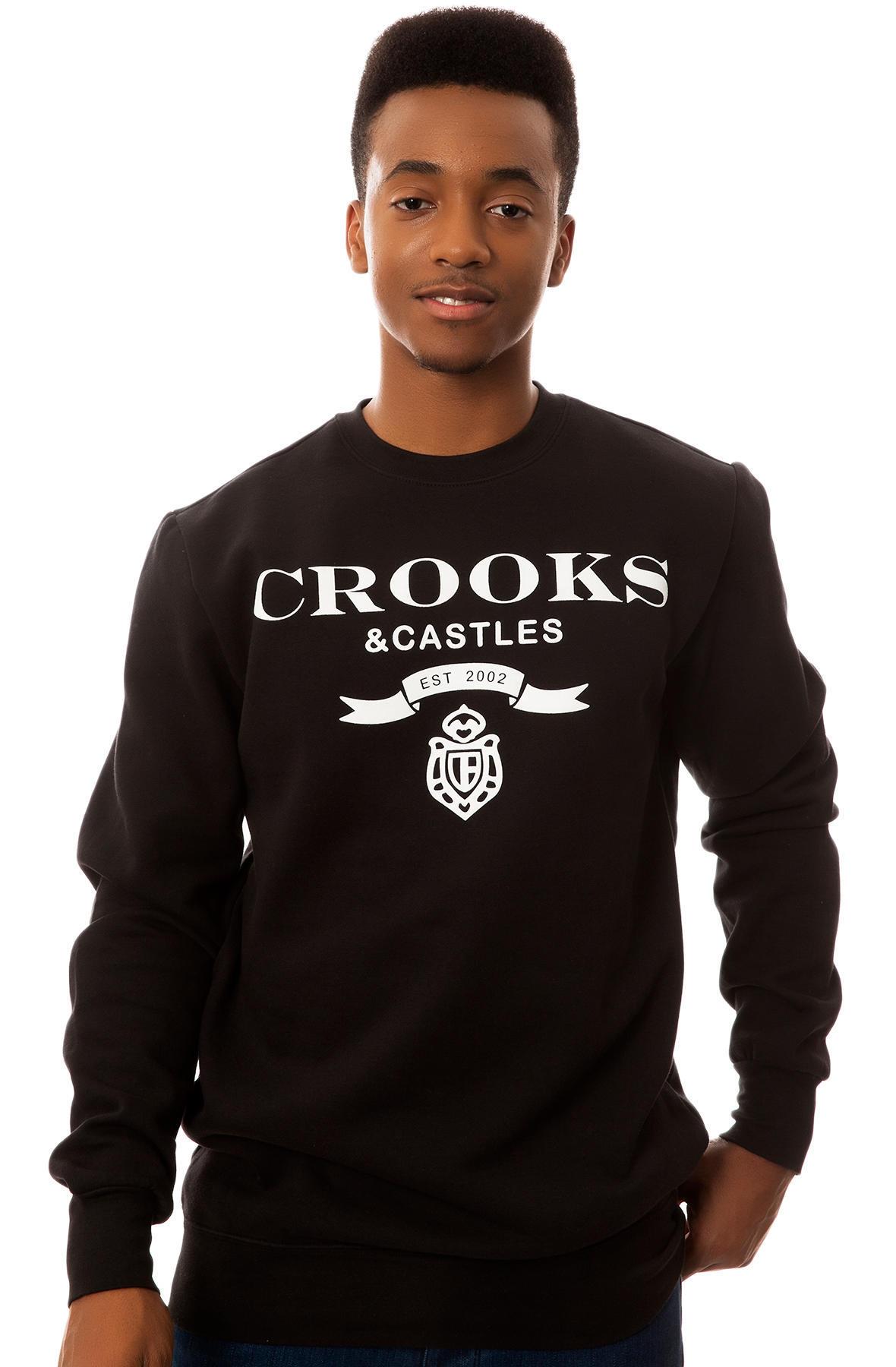 Свитшот Crooks LA фото 1