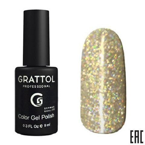 Гель-лак GRATTOL Diamond 001 9мл