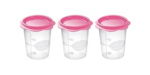 Набор контейнеров Tescoma BAMBINI для продуктов детского питания, 3 шт, 200 мл