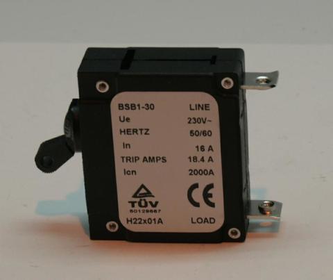Выключатель автоматический DDE 16A, 1Ф  DPG9551E/DPG10551E