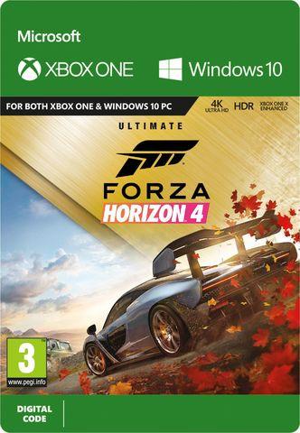 Xbox Store Россия: Forza Horizon 4: Ultimate (Xbox One/Series S/X, цифровой ключ, русская версия)