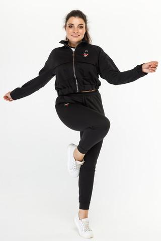 Спортивный костюм Тройка черный