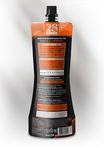 Энергетический напиток Чиа ОМЕГА-3 «Тропик» без сахара, 250 г