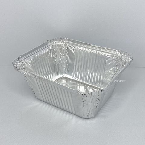 Контейнер прямоугольный из пищевой алюминиевой фольги SP44L