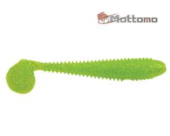 Виброхвост Mottomo Booster 9,5см Chartreuse Glitter 4шт.