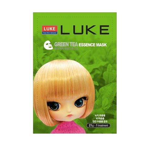 LUKE маска для лица с экстрактом зеленого чая