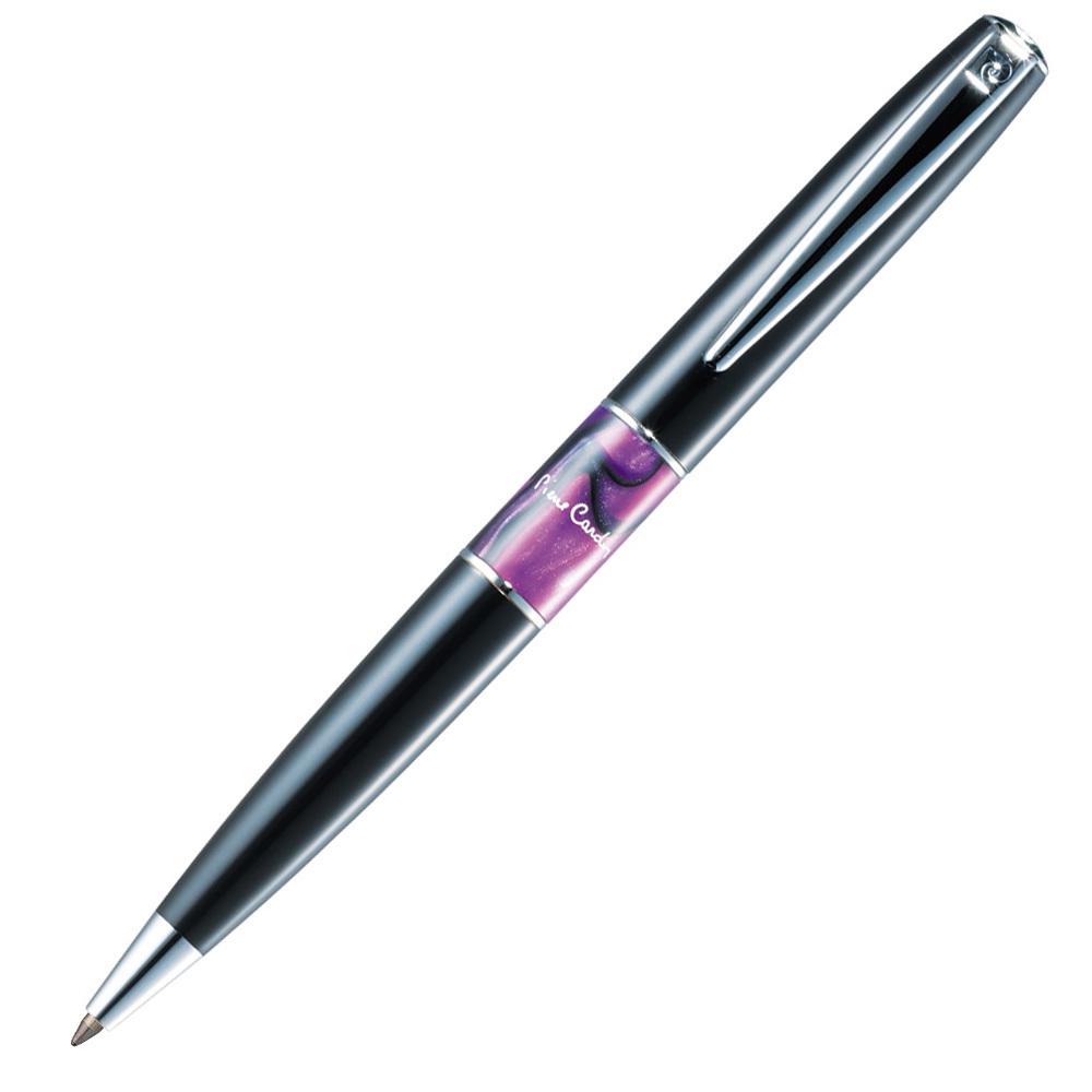 Набор подарочный Pierre Cardin - Black ST, обложка для паспорта + шариковая ручка