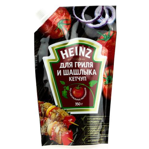 Кетчуп Хайнц томатный для шашлыка МИНИМАРКЕТ 0,35кг