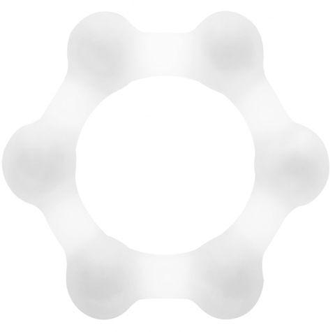 Прозрачное утяжеленное эрекционное кольцо N 83 Weighted Cock Ring