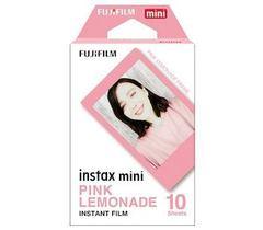 Fotoaparat lenti \ Картридж Fujifilm Instax Mini Pink Lemonade, 10 lent