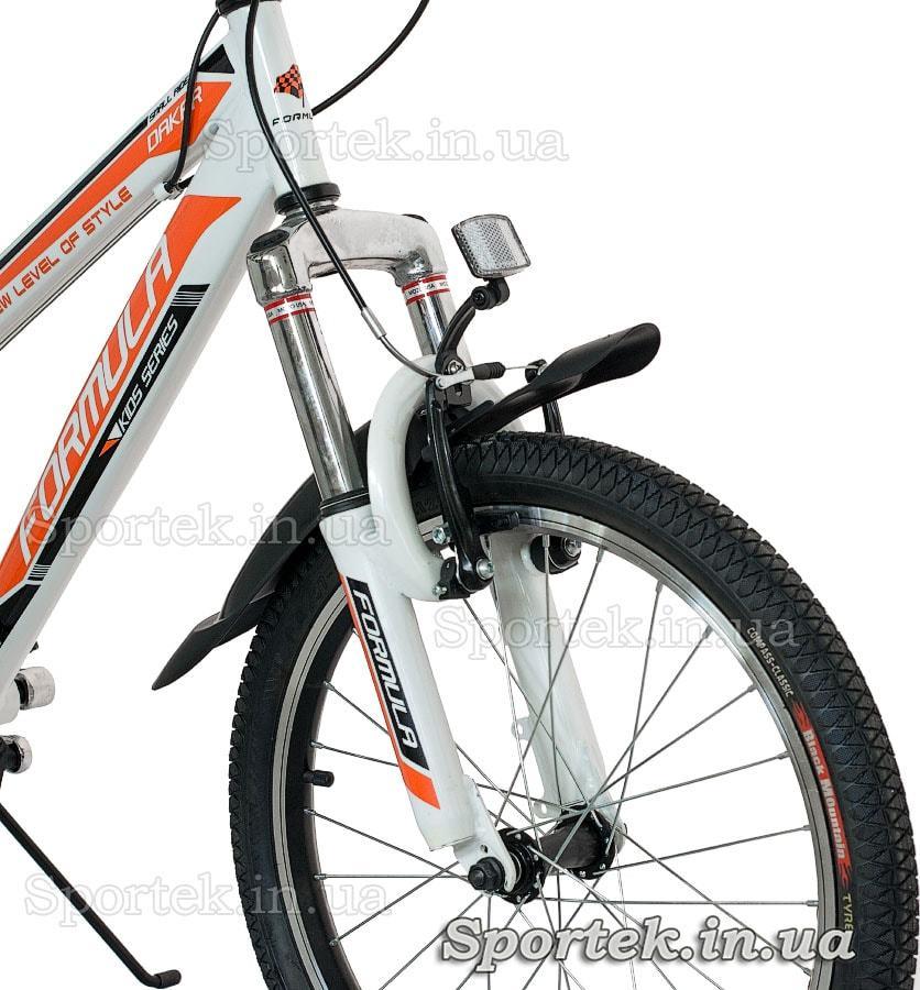 Вилка горного универсального велосипеда Formula Dakar 2015 (Формула Дакар)