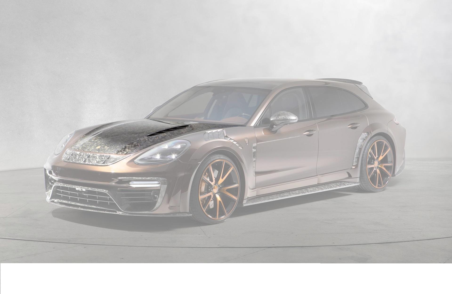 Карбоновый капот Mansory Style для Porsche Panamera