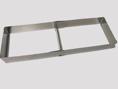 Форма раздвижная, L 18-53 H5 см (с разделителем)
