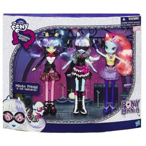 My Little Pony Девочки Эквестрии набор из трех кукол Фотофиниш