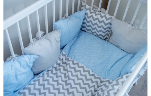 Кроватка детская Polini kids Simple 101, серый