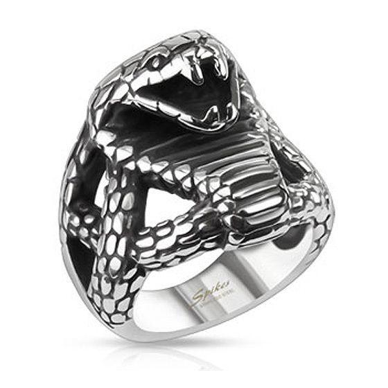 Мужской брутальный перстень