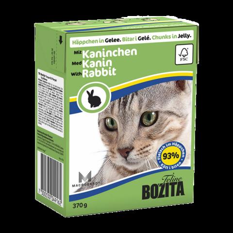Bozita Консервы для кошек с кроликом (кусочки в желе)
