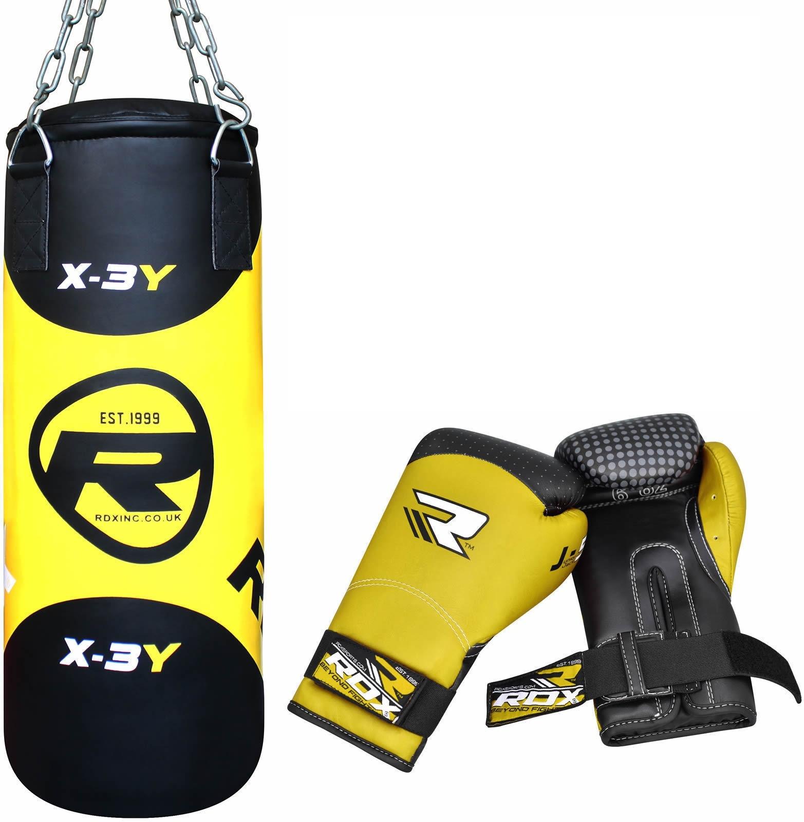 Груши Набор детский RDX Filled Zero Impact G-Core 2ft Kids Boxing Set Punching Bag 1.jpg
