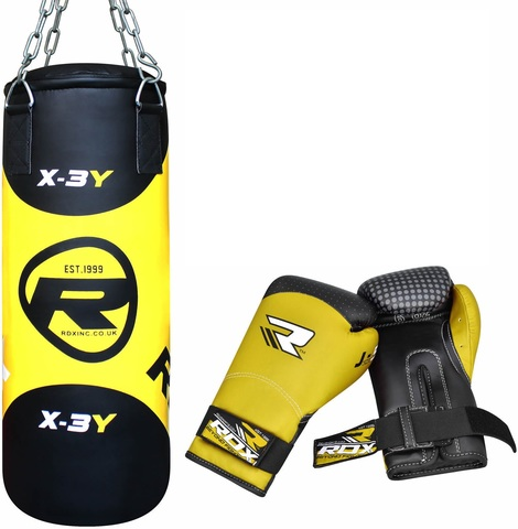 Набор детский RDX Filled Zero Impact G-Core 2ft Kids Boxing Set Punching Bag