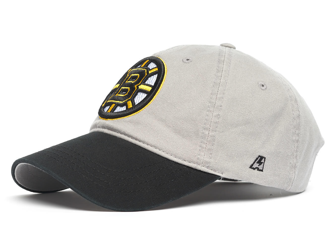 Бейсболка NHL Boston Bruins серая