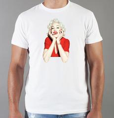 Футболка с принтом Мадонна (Madonna) белая 009