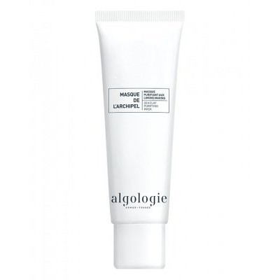 Algologie Линия для жирной кожи: Очищающая крем-маска с морскими водорослями для жирной и смешанной кожи лица (Marine Plants Purifying Mask), 200мл