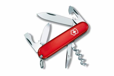 Нож Victorinox Spartan, 91 мм, 12 функций, красный, блистер