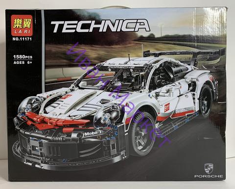 Техник 11171 Porsche 911 RSR 1580 дет Конструктор