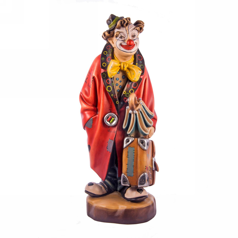 Клоун с чемоданом