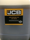Масло моторное синтетик JCB 5W40 оригинал 20L/40012745E