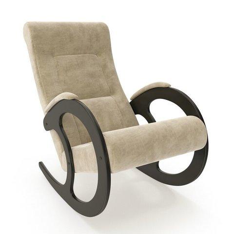 Кресло-качалка Комфорт Модель 3 венге/Verona Vanilla