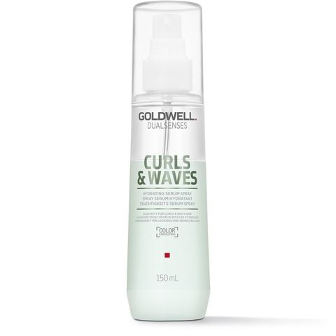Спрей увлажняющий двухфазный для вьющихся волос Goldwell Dualsenses Curl Waves Hydrating Serum Spray, 150 мл.