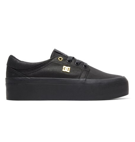 Кеды жен DC Shoes TRASEPLTFM TXSE J SHOE BB2 BLACK/BLACK