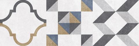 Alabama плитка настенная микс серый 600х200