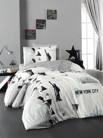 Комплект постельного белья DO&CO RANFORCE  1,5 спальный (Евро) NEW YORK