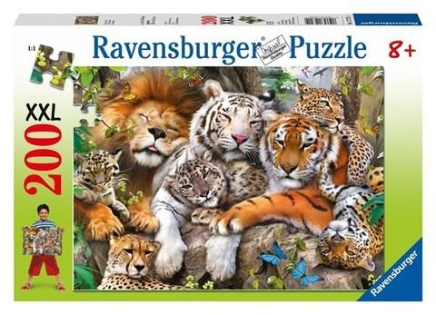 Puzzle Big Cat Nap 200 pcs