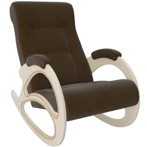 Кресло-качалка Комфорт Модель 4 дуб шампань/Verona Brown